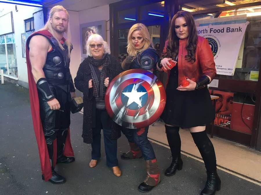 Cosplay Avengers Fundraising at the Majestic Cinema