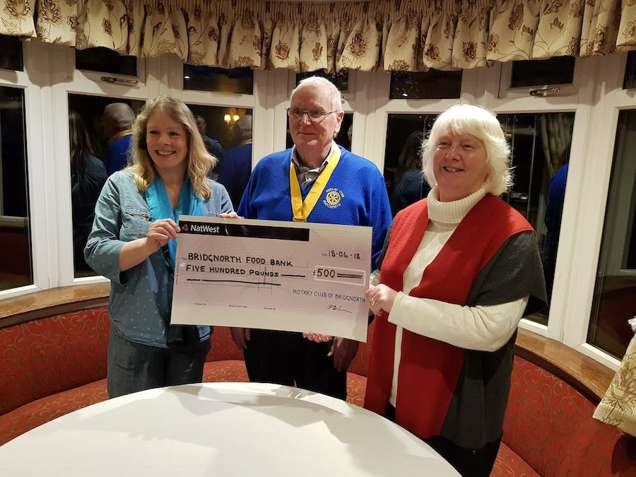 Rotary Club Fundraiser Raises £500
